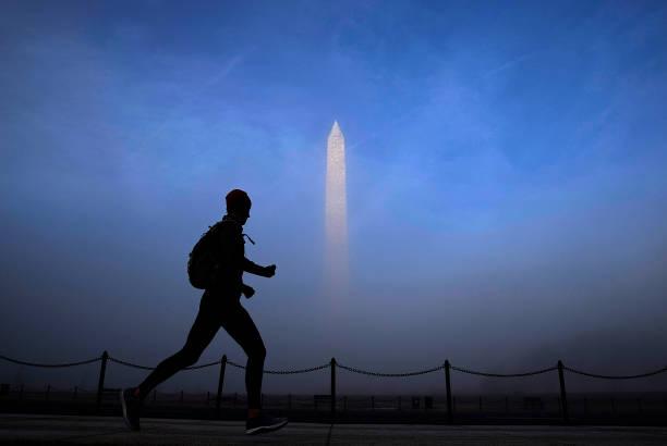 Washington DC「Washington DC Enveloped In Fog」:写真・画像(19)[壁紙.com]