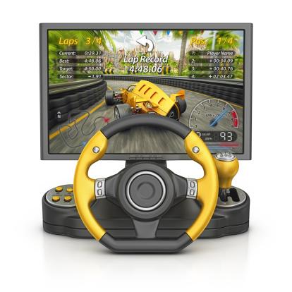 Video Game「race video game」:スマホ壁紙(5)