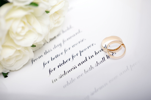 Wedding Invitation「Rings and Vows」:スマホ壁紙(2)