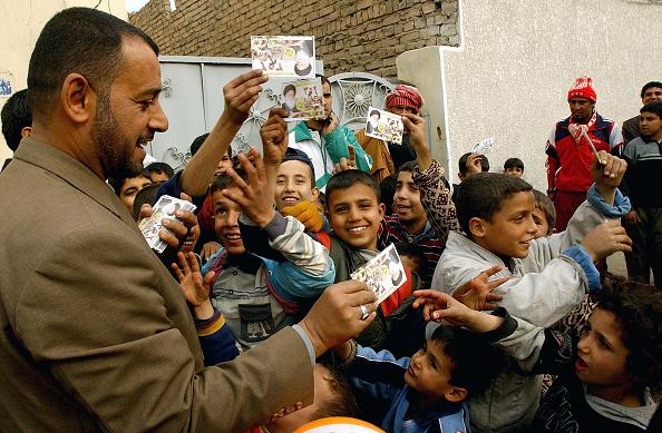 Sadr City「Preparations Continue For Elections」:写真・画像(2)[壁紙.com]