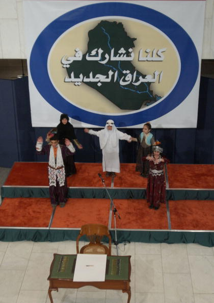 Iraqi Governing council「Iraqi Council Signs Interim Constitution」:写真・画像(7)[壁紙.com]