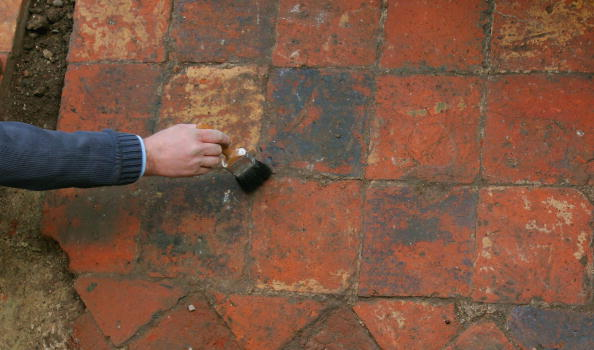 Tiled Floor「Henry VII Chapel Discovered At Old Royal Naval College」:写真・画像(0)[壁紙.com]