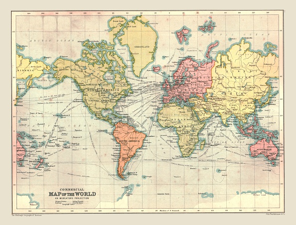 20th Century「Commercial Map Of The World」:写真・画像(15)[壁紙.com]