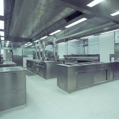 Large「Commercial Kitchen view square formate」:スマホ壁紙(12)