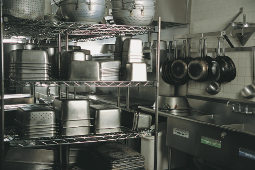 Rack「Commercial kitchen」:スマホ壁紙(2)