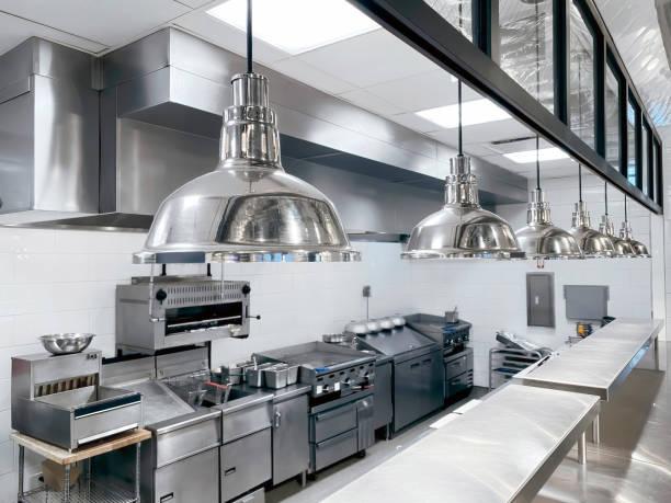 Commercial kitchen:スマホ壁紙(壁紙.com)