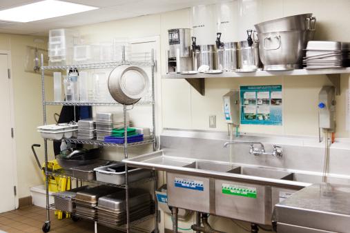 洗う「厨房料理の洗浄」:スマホ壁紙(8)
