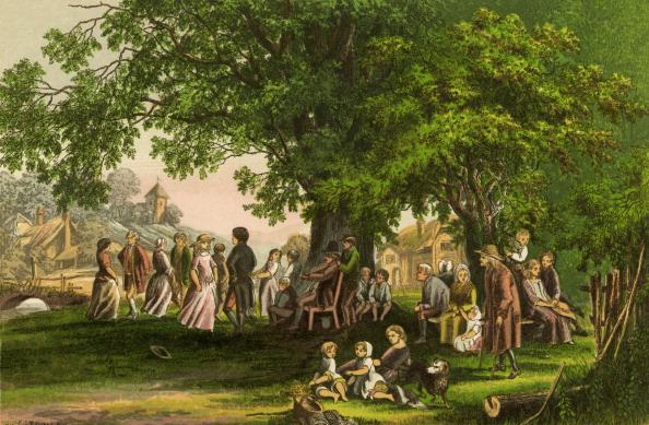 Beech Tree「'The Deserted Village' by Oliver Goldsmith」:写真・画像(4)[壁紙.com]