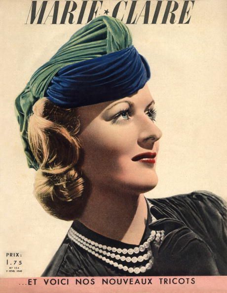 Marie Claire Magazine「Frontpage of french magazine Marie-Claire february 9, 1940」:写真・画像(1)[壁紙.com]