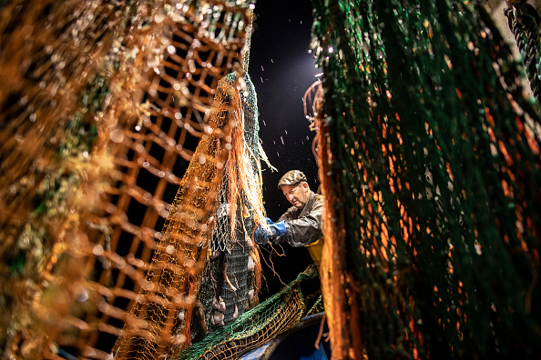 Environmental Issues「Fishing In The English Channel Off The Coast Of Hastings」:写真・画像(6)[壁紙.com]
