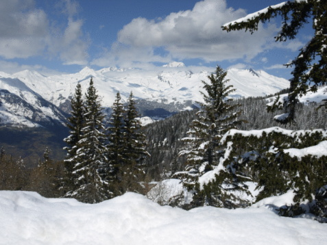 Ski Resort「Les Arcs 1800,Bourg St.Maurice,France」:スマホ壁紙(4)