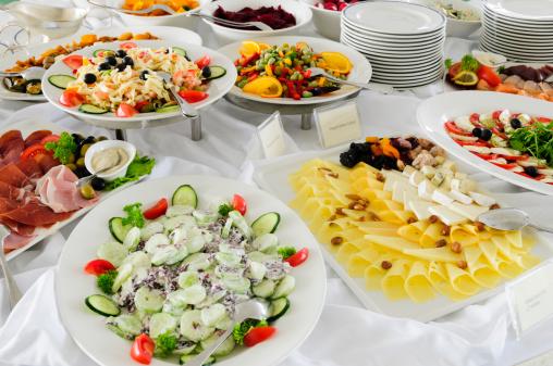 Buffet「Buffet of cheeses and salads」:スマホ壁紙(3)