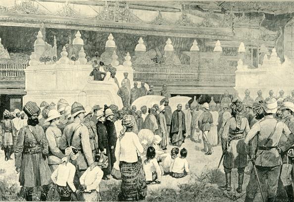 Monastery「The Burmah War - Sir Frederick Roberts Meeting The Buddhist Archbishop At Mandalay」:写真・画像(18)[壁紙.com]