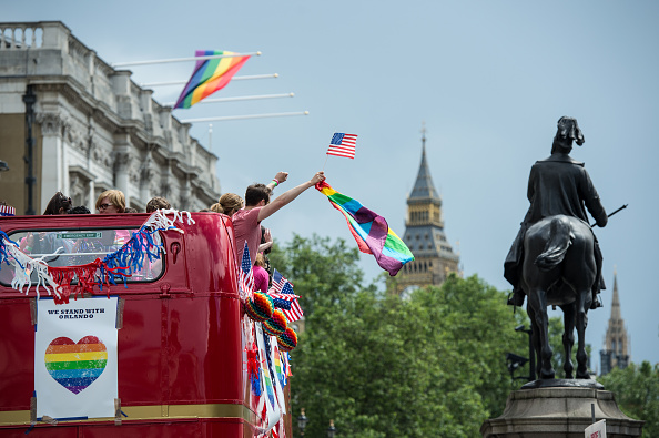Double Rainbow「The LGBT Community Celebrates Pride In London」:写真・画像(16)[壁紙.com]
