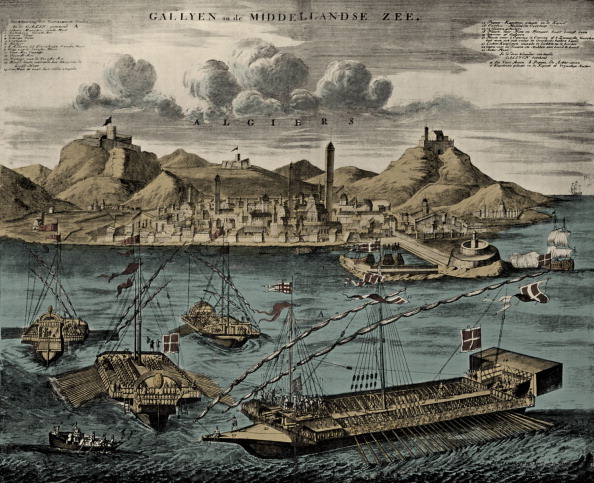 トランペット「View of Algiers with Mediterranean Galleys」:写真・画像(15)[壁紙.com]