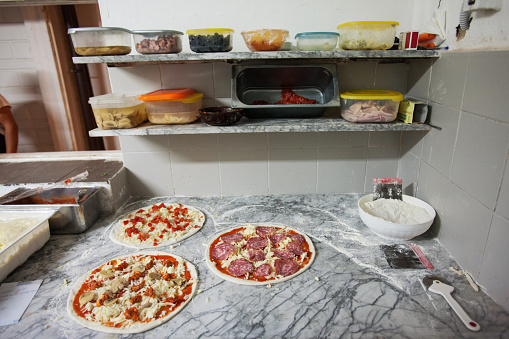 Pizzeria「Pizzas Ready for Cooking」:スマホ壁紙(14)