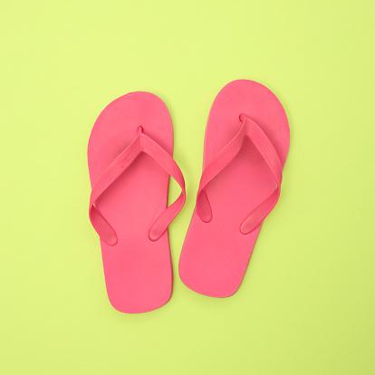 Flip-Flop「Pink flip flops, overhead view」:スマホ壁紙(8)