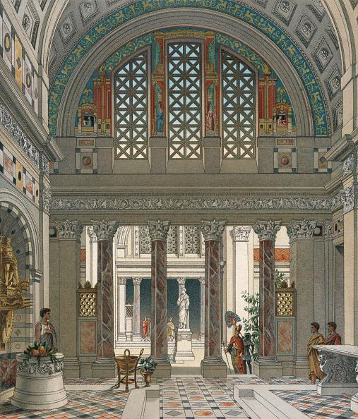 Tiled Floor「Roman Temple」:写真・画像(12)[壁紙.com]
