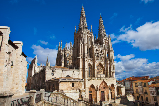 Camino De Santiago「Gothic architecture in Burgos City.」:スマホ壁紙(6)