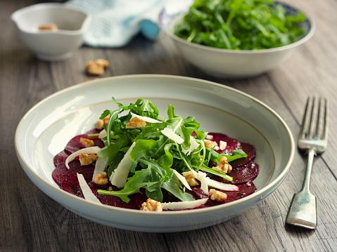 Arugula「Healthy beetroot and rocket salad」:スマホ壁紙(3)