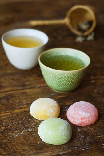 Teapot「Jasmine tea and fruit rice cakes」:スマホ壁紙(10)