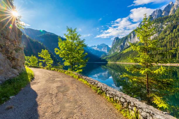 Gosausee with dachstein view - European Alps:スマホ壁紙(壁紙.com)