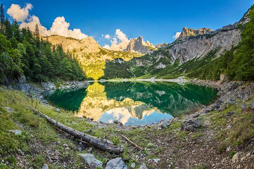 Dachstein Mountains「Gosausee with dachstein view - European Alps」:スマホ壁紙(19)