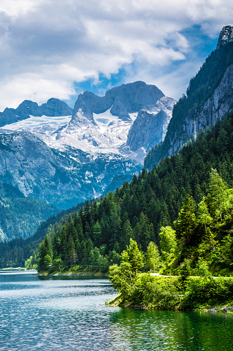 European Alps「Gosausee with dachstein view - European Alps」:スマホ壁紙(19)