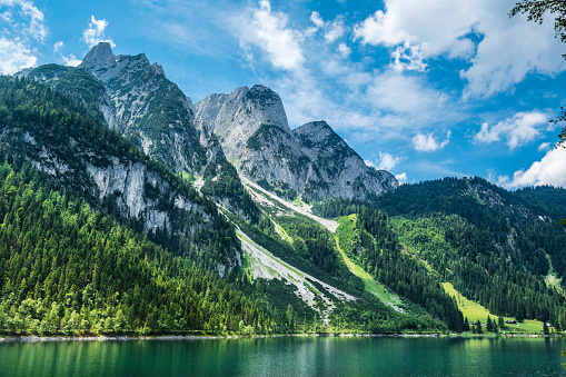 Dachstein Mountains「Gosausee with dachstein view - European Alps」:スマホ壁紙(10)
