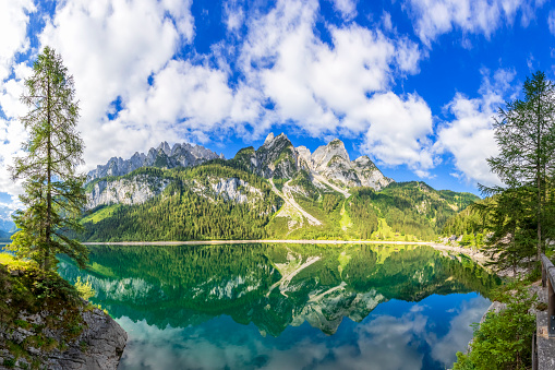 Austria「Gosausee with dachstein view - European Alps」:スマホ壁紙(4)