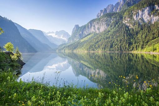 Austria「Gosausee with dachstein view」:スマホ壁紙(14)
