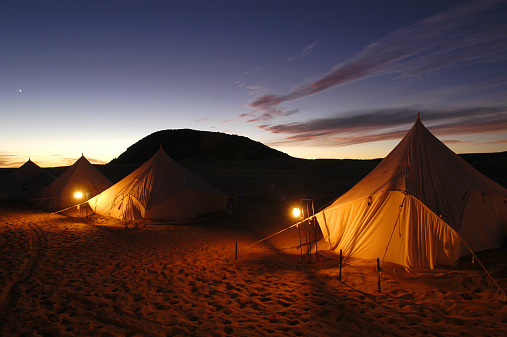 Tent「The camp at Ben Emera Monolith」:スマホ壁紙(5)