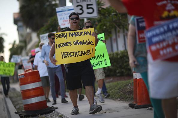 USA「'Medicare For All' Rallies Held Across U.S. Ahead Of Senate Health Care Vote」:写真・画像(17)[壁紙.com]