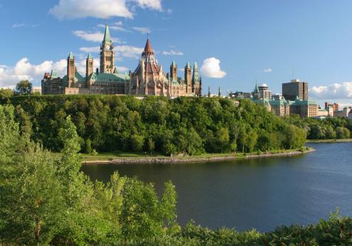 Politics「Canadian Parliament in Ottawa City」:スマホ壁紙(12)