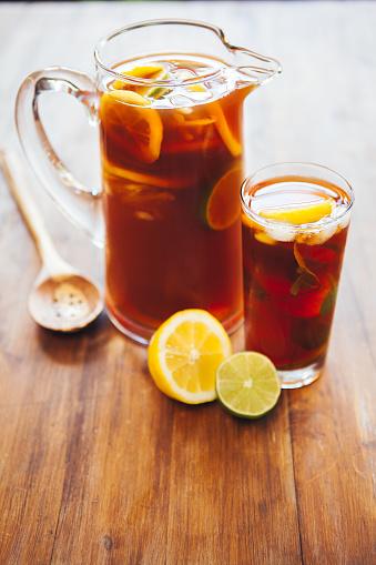 Ice Tea「Lemon Ice Tea, Pitcher and Glass」:スマホ壁紙(14)