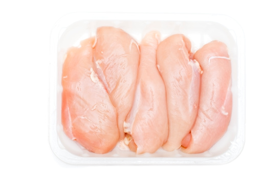 Chicken Meat「Chicken breasts against white background ( series)」:スマホ壁紙(19)
