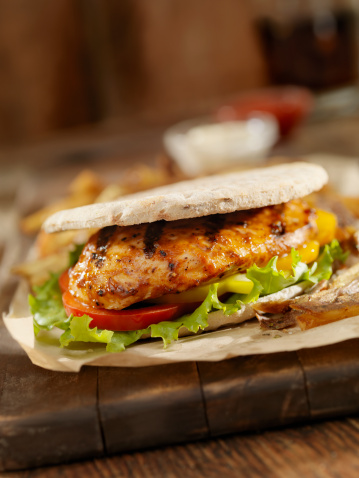 Meal「BBQ Chicken Breast Burger」:スマホ壁紙(3)