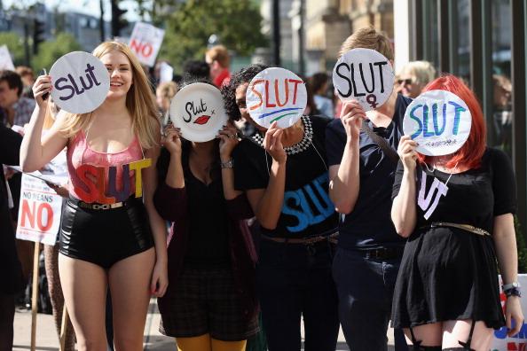 2012 Summer Olympics - London「SlutWalk March Takes Place In London」:写真・画像(3)[壁紙.com]