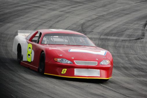Sports Race「Motorsports-Red Race Car」:スマホ壁紙(11)