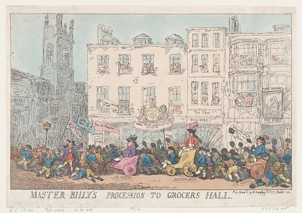 18th Century Style「Master Billys Procession To Grocers Hall」:写真・画像(4)[壁紙.com]