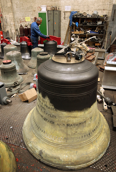 Industrial Laborer「Bells Will Be Heard At St Magnus For The First Time Since World War II」:写真・画像(4)[壁紙.com]