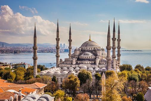 Istanbul「Sultan Ahmet Camii - Blue Mosque in Istanbul」:スマホ壁紙(9)