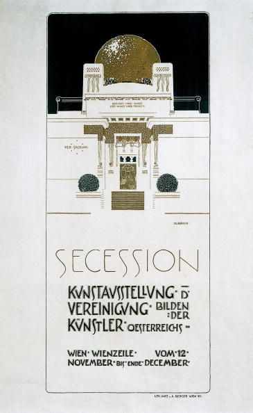 Imagno「Poster: 2nd exhibition of the Secession」:写真・画像(3)[壁紙.com]