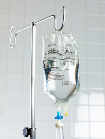 Saline Drip「Saline drip on stand in hospital.」:スマホ壁紙(14)