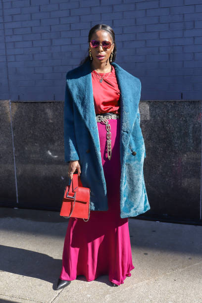 Street Style - New York Fashion Week February 2019 - Day 3:ニュース(壁紙.com)