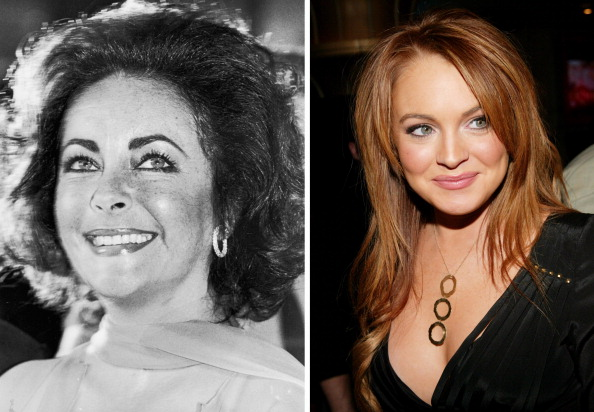 Comparison「FILE PHOTO:  Actress Lindsay Lohan To Play Elizabeth Taylor In Biopic Role」:写真・画像(15)[壁紙.com]