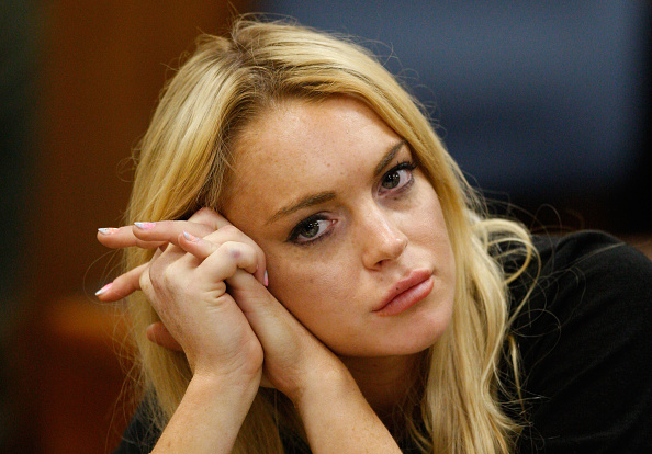Tired「Lindsay Lohan Probation Hearing」:写真・画像(14)[壁紙.com]