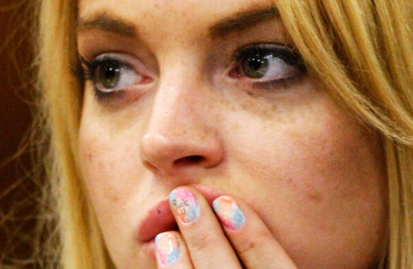 One Woman Only「Lindsay Lohan Probation Hearing」:写真・画像(0)[壁紙.com]