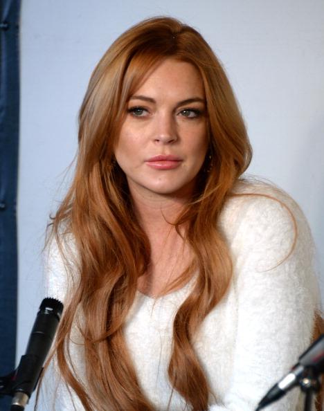Lindsay Lohan「Lindsay Lohan Press Conference At Social Film Loft - 2014 Park City」:写真・画像(18)[壁紙.com]
