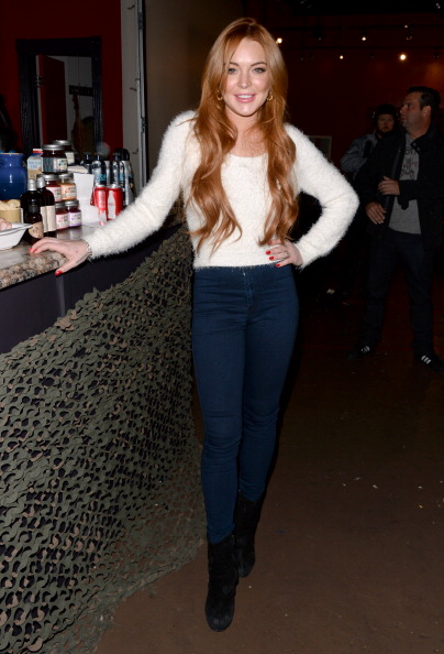 Loft Apartment「Lindsay Lohan Press Conference At Social Film Loft - 2014 Park City」:写真・画像(11)[壁紙.com]
